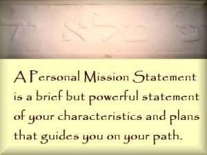 personalmissionstatement